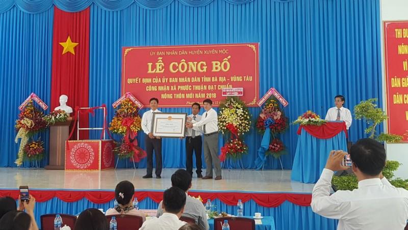 Xã Phước Thuận, Bà Rịa - Vũng Tàu: Vững vàng về đích nông thôn mới