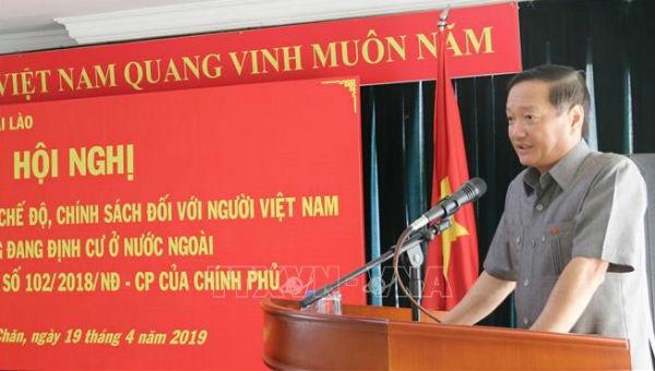 Triển khai chế độ với người Việt Nam có công đang định cư ở nước ngoài