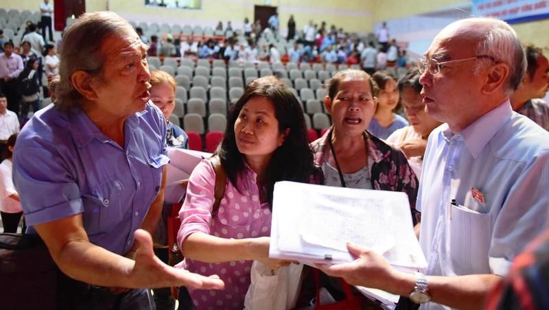 Cử tri quận 2 đề nghị đưa vấn đề Thủ Thiêm ra Quốc hội thảo luận