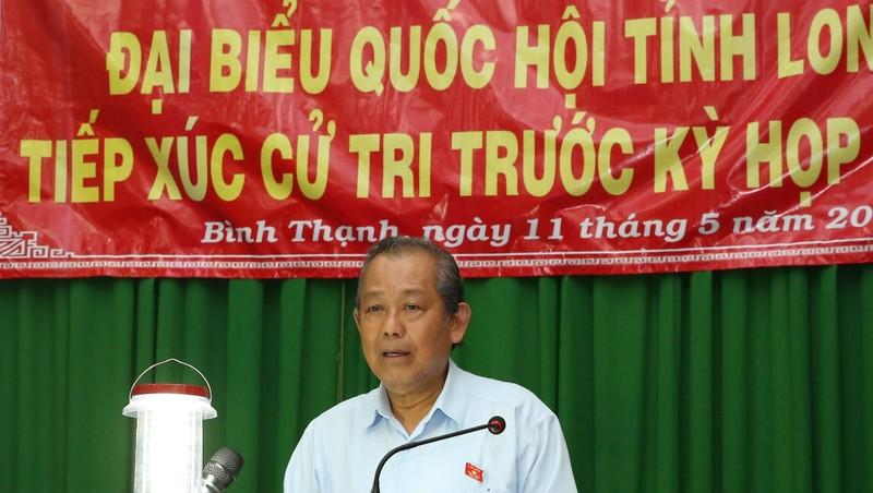 """Phó Thủ tướng Thường trực Trương Hòa Bình: """"Công cuộc phòng chống tham nhũng đang có bước tiến mạnh"""""""
