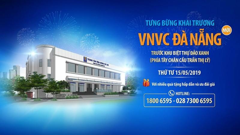 VNVC khai trương trung tâm tiêm chủng lớn nhất Việt Nam tại Đà Nẵng