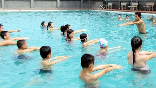 Phát động toàn dân tập bơi phòng, chống đuối nước