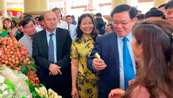 Thị trường lớn rộng cửa đón vải thiều Bắc Giang