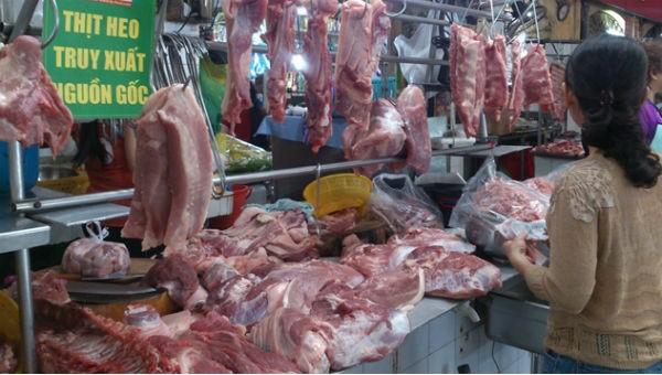 Đưa thịt lợn vào chương trình bình ổn giá cuối năm