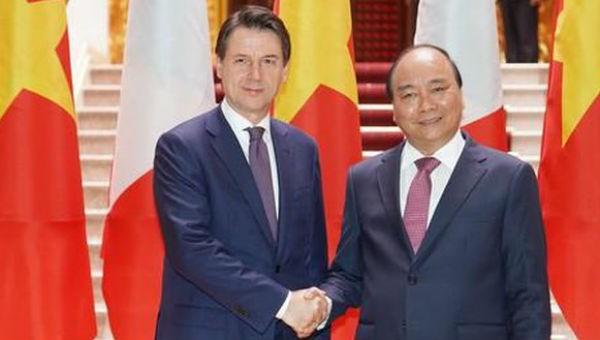 Việt Nam – Italia phấn đấu kim ngạch thương mại song phương 6 tỷ USD