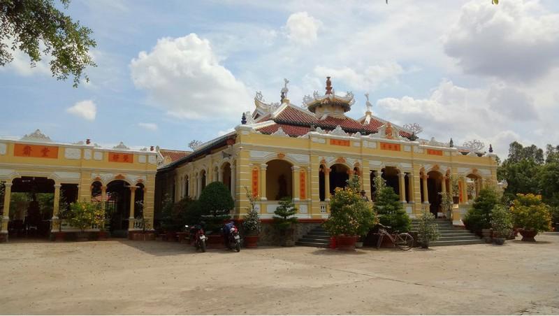Ngôi chùa độc đáo miền Tây