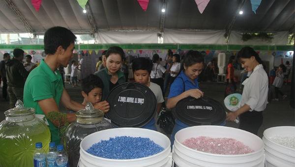 Ngày hội tái chế chất thải tại Đồng Nai