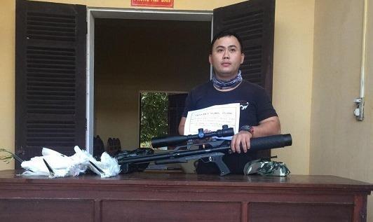 Xử phạt đối tượng sử dụng súng trái phép