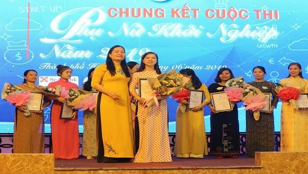 Dự án phát triển du lịch sen Huế đạt giải nhất cuộc thi phụ nữ khởi nghiệp 2019