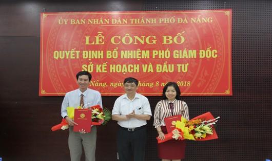 Sở KHĐT Đà Nẵng có thêm 2 Phó Giám đốc