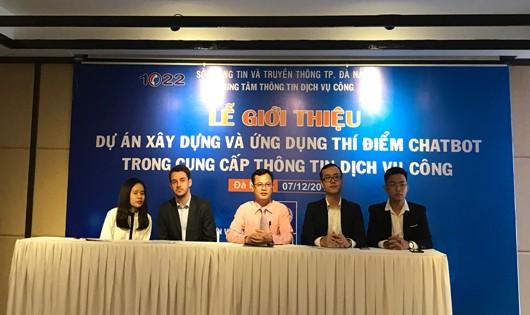 Đà Nẵng ra mắt ứng dụng Chatbot cung cấp thông tin dịch vụ công