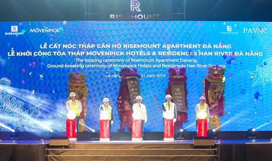 Vicoland Group cất nóc Tòa Tháp sử dụng kính cường lực dát vàng đầu tiên tại Việt Nam