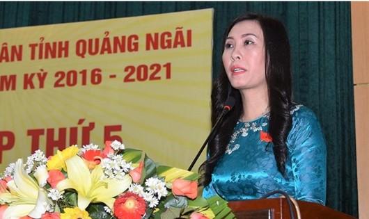 Nữ Chủ tịch HĐND tỉnh Quảng Ngãi giữ chức Phó Bí thư Tỉnh ủy