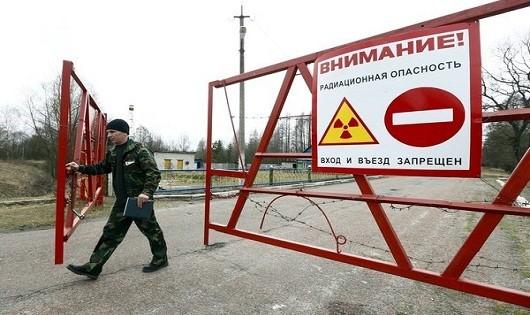 Tàn dư thảm kịch Chernobyl