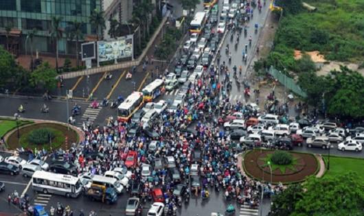 Giao thông đô thị kìm hãm Thủ đô phát triển