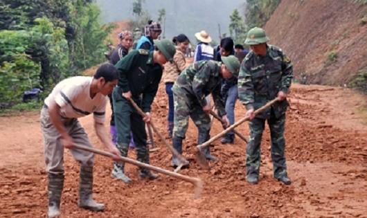 Đồn Biên phòng Bảo Lâm: Tăng gia sản xuất giỏi, giúp dân xóa đói, giảm nghèo