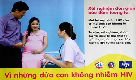 Làm gì để loại trừ nguy cơ  nhiễm HIV cho con?