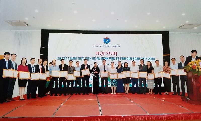 Bệnh viện Sản Nhi tỉnh Bắc Ninh nhận Bằng khen của Bộ Y tế