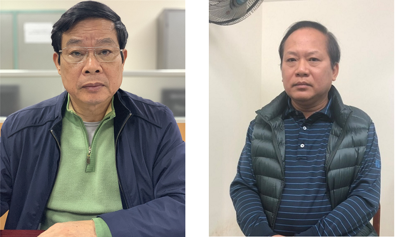 Khởi tố, bắt tạm giam để điều tra đối với bị can Nguyễn Bắc Son và Trương Minh Tuấn