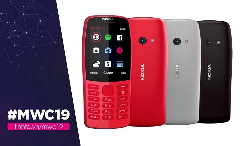 Chỉ 35 USD là có thể sở hữu chiếc nokia 210 với thiết kế bàn phím số và kết nối internet