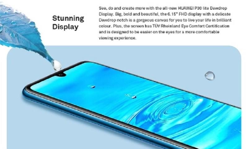 Huawei ra mắt phiên bản P30 Lite trên trang web của hãng