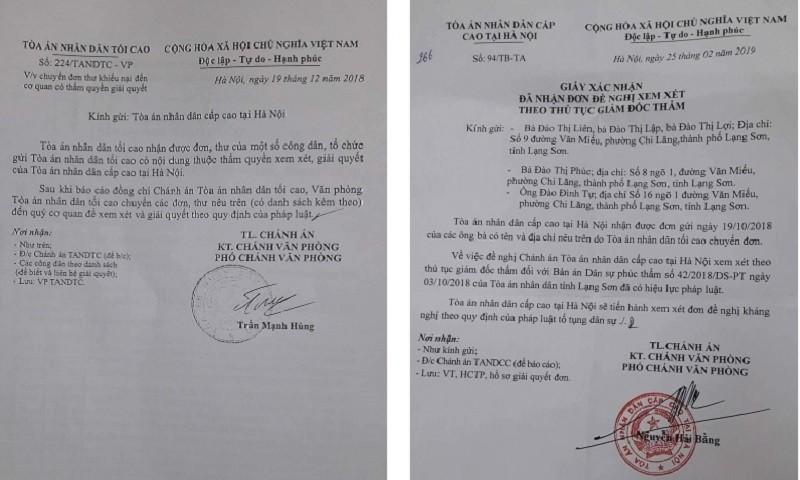 """TAND Cấp cao tại Hà Nội sẽ xem xét Giám đốc thẩm vụ án """"nồi da xáo thịt"""" ở Lạng Sơn"""