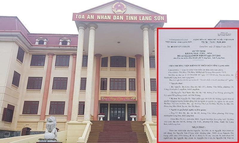 Vụ án 'nồi da xáo thịt' ở Lạng Sơn: Kiến nghị xem xét nhiều nội dung của bản án