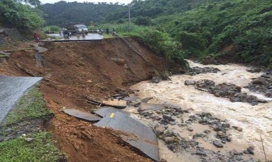 Tan hoang sau lũ dữ ở Hà Giang