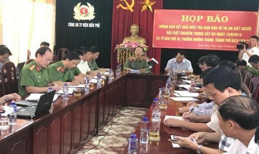 Thông tin chính thức về vụ xả súng bắn chết 2 vợ chồng rồi tự sát ở  Điện Biên