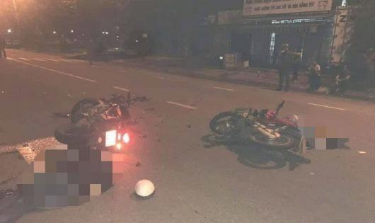 Va chạm xe kinh hoàng tại Đà Nẵng, 2 người đàn ông thiệt mạng
