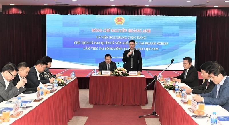 Chủ tịch 'siêu Ủy ban' Nguyễn Hoàng Anh: VIMC đã vượt qua 'cú sốc' lớn