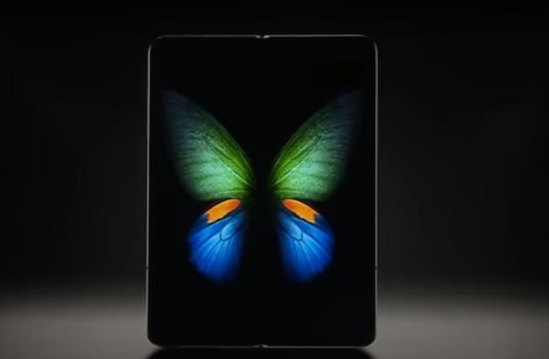 Điện thoại màn hình gập và cảm biến vân tay siêu âm của Samsung trình làng