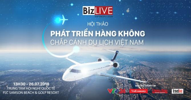 """Sắp diễn ra Hội thảo """"Phát triển hàng không - Chắp cánh du lịch Việt Nam"""""""