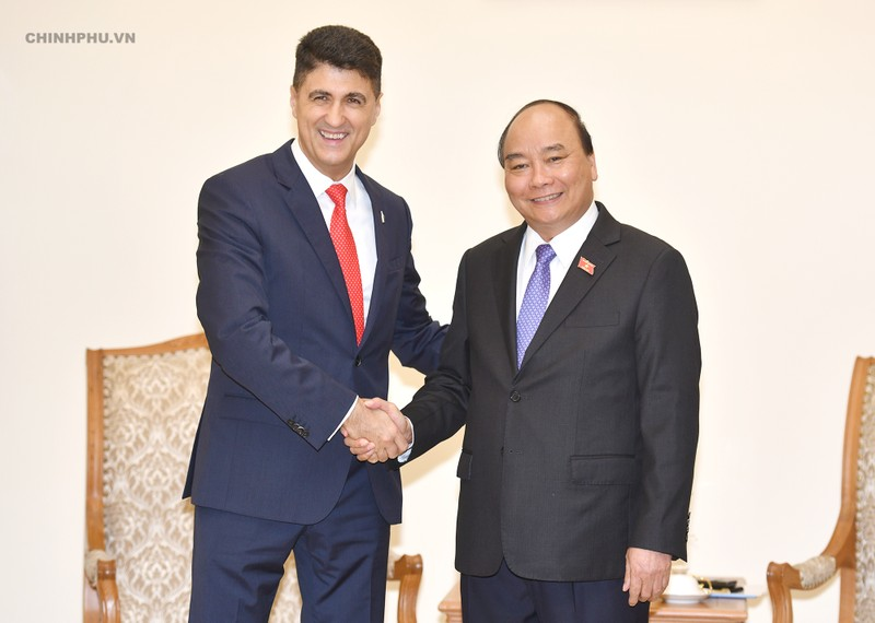 Thủ tướng tiếp Chủ tịch Tập đoàn Coca - Cola