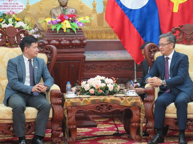 Bộ Tư pháp chúc mừng 43 năm Quốc khánh Lào
