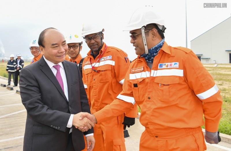 Vận hành thương mại Nhà máy lọc hóa dầu Nghi Sơn