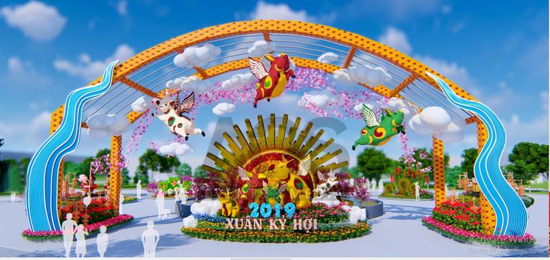 'Đẹp rụng rời' Lễ hội hoa xuân lớn nhất Miền Bắc tại Sun World Halong Complex