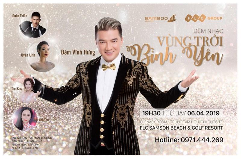 """Mr Đàm và dàn sao """"khủng"""" chuẩn bị đổ bộ FLC Sầm Sơn trong đêm nhạc """"Vùng trời bình yên"""""""