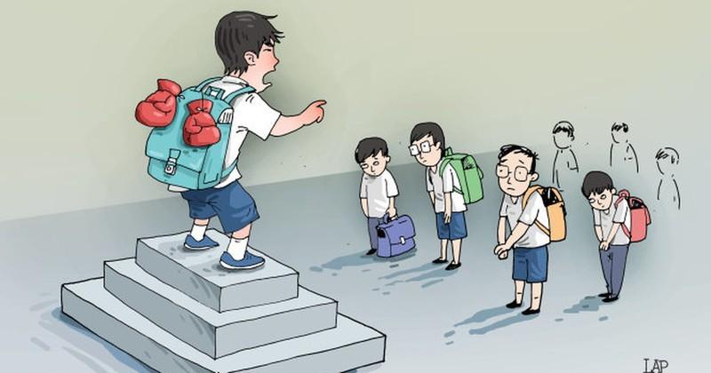 Để xảy ra bạo lực học đường, hiệu trưởng phải chịu trách nhiệm
