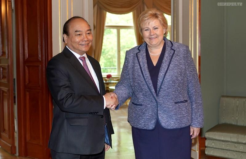 Hai Thủ tướng Việt Nam - Na Uy hội đàm, thống nhất nhiều nội dung quan trọng