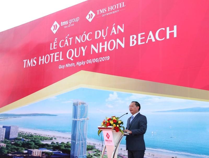 Cất nóc dự án khách sạn tiêu chuẩn 5 sao cao nhất Quy Nhơn