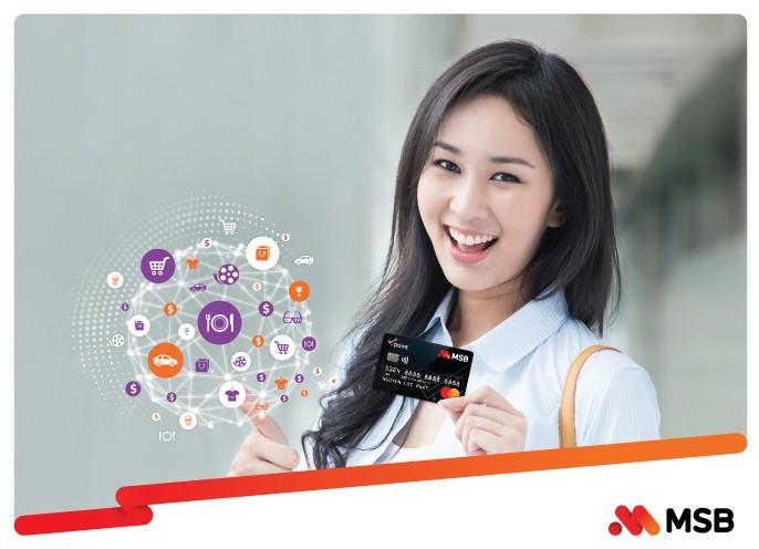 Cơ hội nhận 10 triệu đồng khi mua sắm qua thẻ liên kết Vpoint – MSB