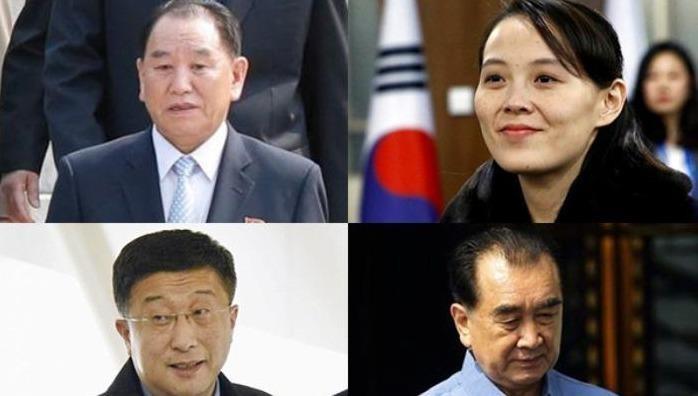 """""""Bộ tứ quyền lực"""" thân cận nhất, luôn theo sát tháp tùng ông Kim Jong un"""