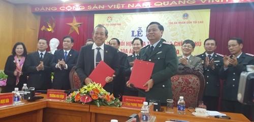 Thanh tra Chính phủ và TANDTC phối hợp chống tham nhũng