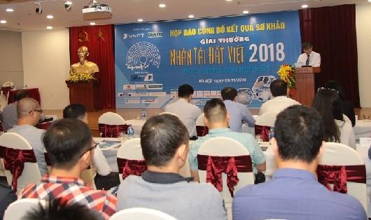 20 sản phẩm CNTT lọt vào vòng chung khảo Nhân tài Đất Việt 2018