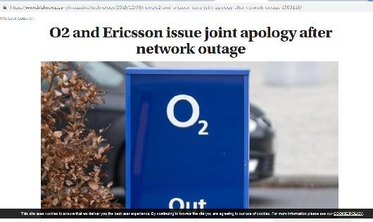 Ericsson xin lỗi về sự cố 'sập' nhiều mạng di động trên toàn cầu