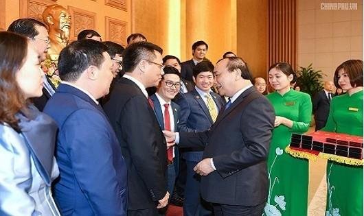 """Tân Á Đại Thành là """"Thương hiệu Quốc gia"""" năm 2018"""