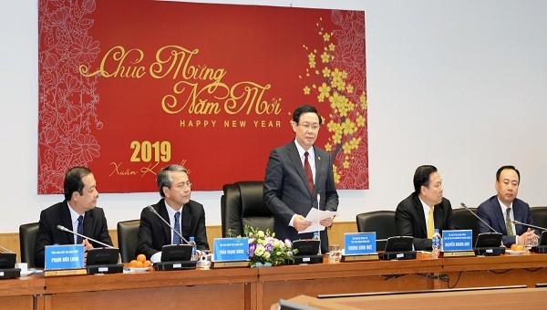 Phó Thủ tướng Vương Đình Huệ:  VNPT phải phát huy vị trí dẫn dắt trong kinh tế số
