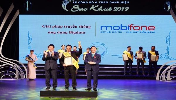 Sản phẩm của MobiFone được tôn vinh tại Giải thưởng Sao Khuê 2019