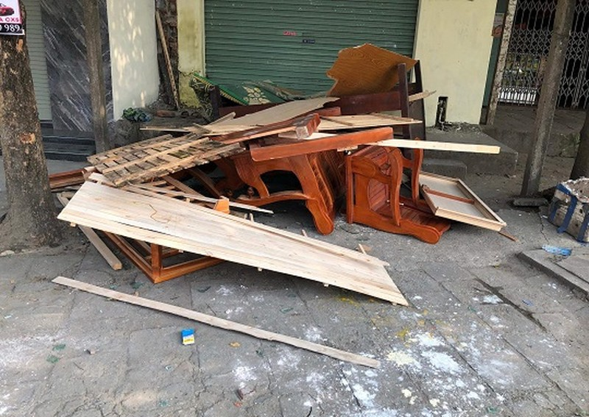 """Hải Phòng: Vụ huỷ hoại tài sản do nhóm """"đập phá thuê"""" thực hiện có nguy cơ chìm xuồng"""